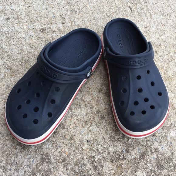 CROCS Shoes   Crocband Kids Size J2